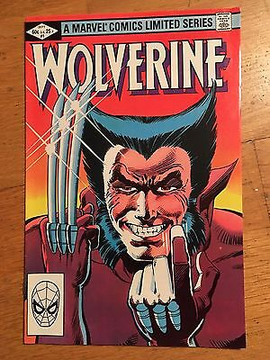 Wolverine #1 (Mini-Series, 1st appearance in own title, by Frank Miller)