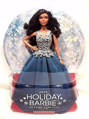 Mattel 2016 Holiday Barbie The Peace Hope Love Collection BNIB