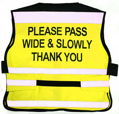 Equisafety Air Waistcoat - Please Pass Wide And Slow