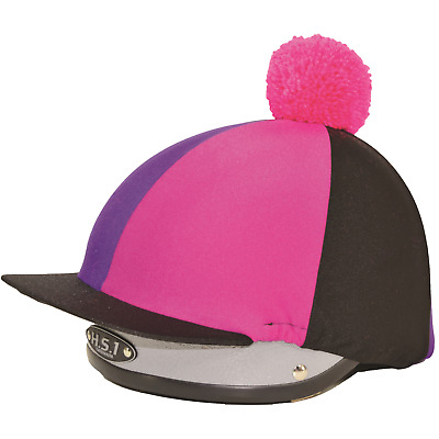 Spartan Lycra Hat cover with pom pom