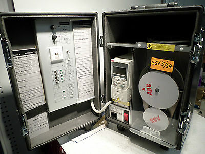 ABB - ACS350 DEMOCASE - Complete training system - Road case Drive-Motor + more