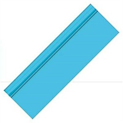 Amscan Plastic Tablecover Banqueting Roll - Caribbean Blue - Banquet Table