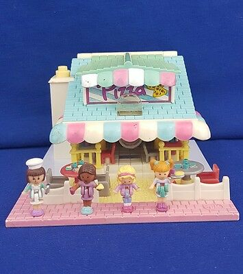 vintage polly pocket Pizzeria Pollyville 100% Complete  1993 Bluebird toy
