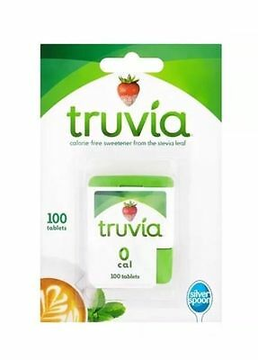 Silver Spoon Truvia Sweetener Tablets Expiry Oct. 2018 UK SELLERS