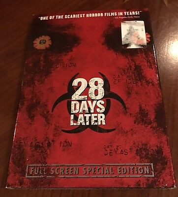"""28 Days Later"" DVD 2003 (Full Screen Special Edition)"