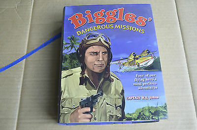 LARGE HEAVY 2008 1st EDITION BIGGLES BOOK DANGEROUS MISSIONS