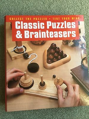 Wooden Puzzle Collection - Classic Puzzles and Brainteasers (Hachette)