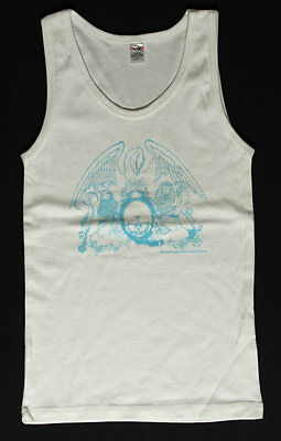 Queen Night at the Opera _RARE Womens/Ladies 2004 Concert Shirt M White Tank Top