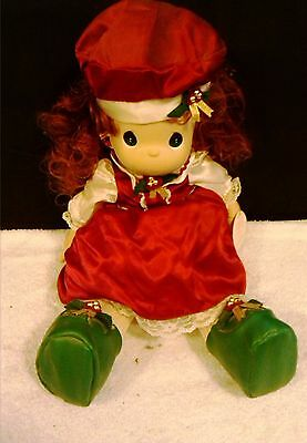 PRECIOUS MOMENTS HOLLY DOLL QVC Exclusive no. 1141 - 17 Inches Tall