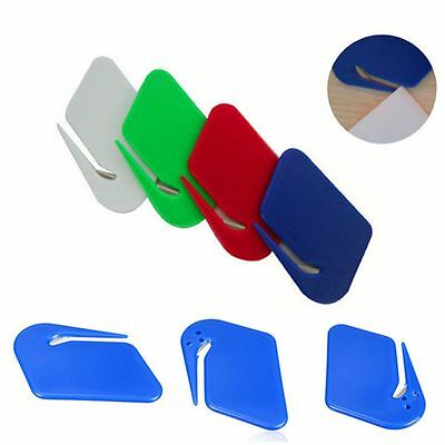 Guarded Cutter Stainless Steel Blade Express Package Opener Letter Open Knife
