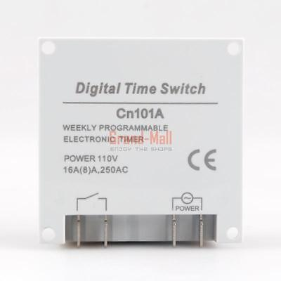 Digital LCD Display Weekly Programmable Electronic Timer Modules Time Switch US