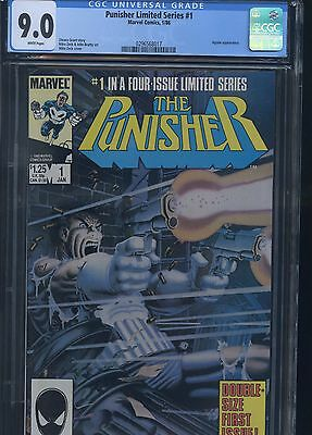 Punisher Limited Series #1 CGC 9.0
