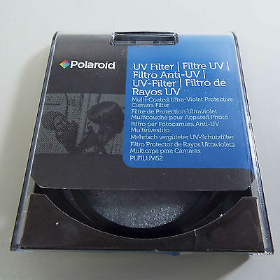 Polaroid 62Mm Multi-Coated Uv Protective Camera Lens Filter Plfiluv62 (S2900)