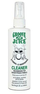 Groove Juice Jr. Cymbal and Drum Hardware Cleaner - 240ml /8 fl. oz. pump spray