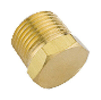 Brass Plug – BSPT Male, Fuel, Air, Water, Gas