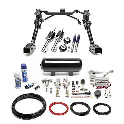 Ta Technix Air-Ride Air Suspension Incl. Compressor-Kit - Vw Caddy