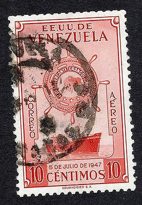 1948 Venezuela 10c ist Anniv of Greater Colombia Merchan FINE USED R20519