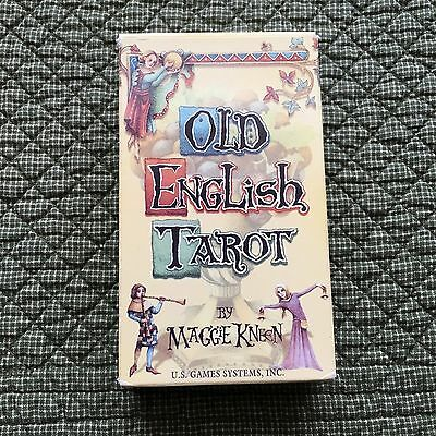 Old English Tarot By Maggie Kneen Medieval Manuscript Style Illustrations