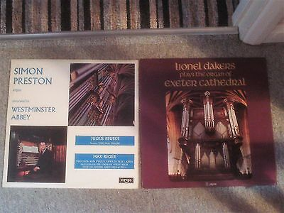 Lionel Dakers And Simon Preston Organ Music L.p.s