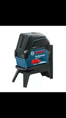 Bosch cross line laser GCL 2-15 incl. Bag, RM 1 Professional and Target panel
