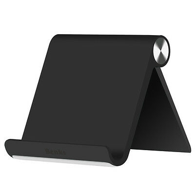 Universal Multi Angle Stand Holder For iPad iPhone Samsung Tablet Black