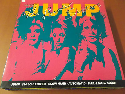 The Best Of The Pointer Sisters: Vinyl Lp Made In Germany: 1989: Jump: Automatic