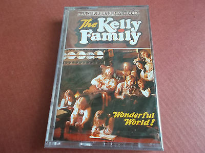 The Kelly Family: Wonderful World: Mc Audio Tape (Musikkassette): Neu!