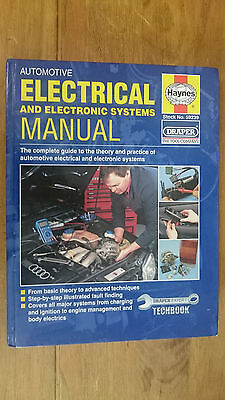 Haynes 599239 Automotive Electrical & Electronic Systems Manual