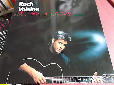 Roch Voisine: On The Outside: Vinyl Lp: 1990
