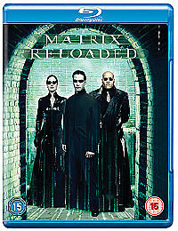The Matrix Reloaded Blu-ray 2009 Keanu Reeves MINT FREE UK POSTAGE