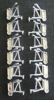 Dcp Six (6) Sets Of Kenworth Mirrors 1/64