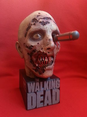 The Walking Dead - Zombie Head - Zombiekopf -  Limited Edition - sehr selten