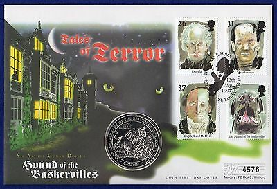 Gibraltar 1994 Crown, Coin First Day Cover, FDC (Ref. t0342)
