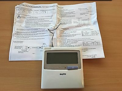 Sanyo RCS-TM80BG Hard Wired controller Air conditioning Remote control