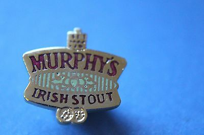 MURPHY'S IRISH STOUT TIE OR LAPEL PIN BADGE.unused
