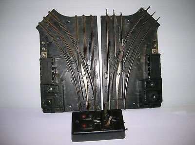 Lionel # 1122 , 027  gauge Auto Switches  pair, need wiring  used lot # 10477