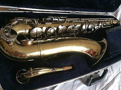 "VINTAGE Saxophone ténor CONN Director 16m 1966 ""READY TO PLAY"" super son!"