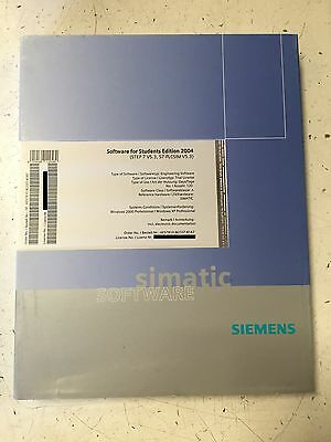 Siemens Simatic Software Students 2004 STEP 7 V5.3, S7-PLCSIM 6ES7810-8CC07-4YA7