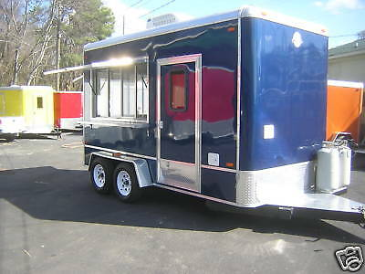 2017  New  7 X 14  Concession Trailer, 18 YEARS ON ebay!
