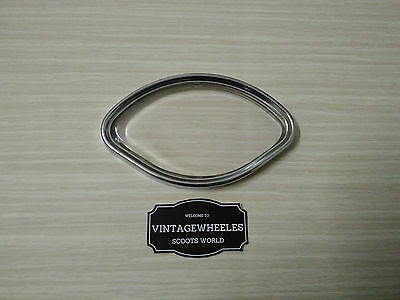 Replacement Lens Kit. Stainless Steel Glass Lens. For Vespa Vbb Sprint Scoots