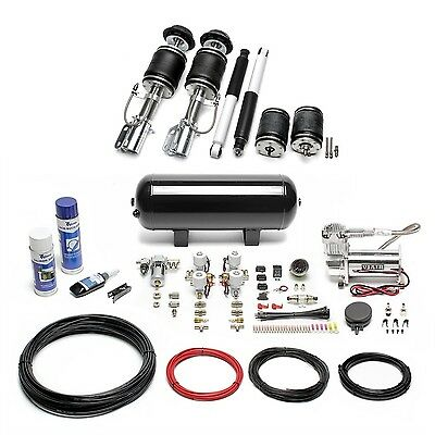 Ta Technix Air-Ride Air Suspension Incl. Compressor-Kit - Corsa C, Tigra Twintop