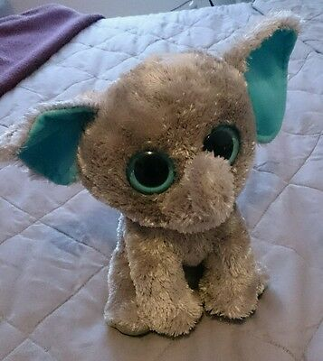 Elephant TY plush toy. great condition