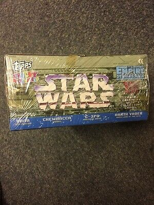 Star Wars Topps Trading Cards Box Unopened 1995