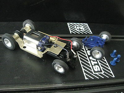 Strombecker ( Long or Short ) Steel Chassis with body pins 1/32 Scale Slot cars