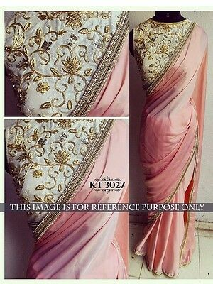 Bollywood Style Indian Traditional Sari Sarees Designer Party Wear