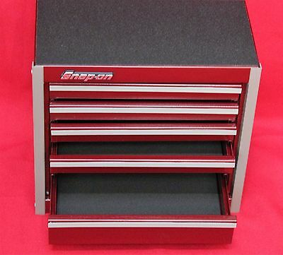 Snap On Cranberry  Mini Bottom Roll Cab Tool Box Brand New