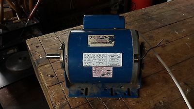 3/4hp single phase electric motor 1425rpm