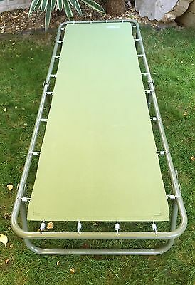 Quest Traveller Camping Bed In Green