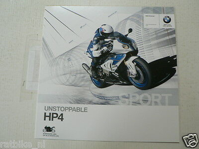 Fn640-Brochure Bmw Hp4 Moto 2013  Dutch 8 Pages Motorcycle