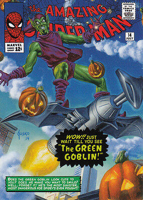 2016 Marvel Masterpieces - WHAT IF #77 Green Goblin /499 NM/M - More Singles!
